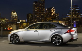 2014 Lexus IS Pricing Announced