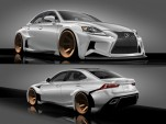 2014 Lexus IS DeviantART SEMA design concept. Winning design by Rob Evans.