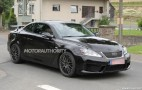2014 Lexus IS F Convertible Spy Shots