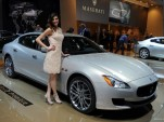 2014 Maserati Quattroporte live photos, 2013 Detroit Auto Show