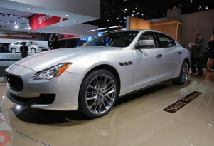 2014 Maserati Quattroporte: 2013 Detroit Auto Show