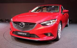 2014 Mazda Mazda6 Live Photos: 2012 Paris Auto Show
