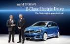 2014 Mercedes-Benz B Class Electric Drive Debuts In New York