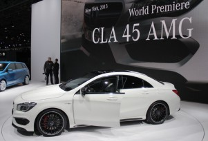 2014 Mercedes-Benz CLA45 AMG, 2013 New York Auto Show