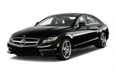 2014 Mercedes-Benz CLS Class 4-door Sedan CLS63 AMG RWD Angular Front Exterior View