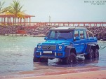 Mercedes-Benz G63 AMG 6x6 Sea Monster