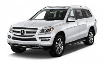 2014 Mercedes-Benz GL Class 4MATIC 4-door GL450 Angular Front Exterior View