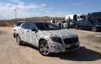 2014 Mercedes-Benz GLA Spy Shots (With Interior)