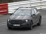 2014 Mercedes-Benz GLA45 AMG spy shots