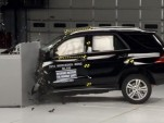 2014 Mercedes-Benz ML350 Crash Test