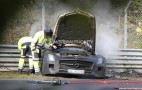 2014 Mercedes-Benz SLS AMG Black Series Prototype Crashes And Burns