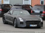 2014 Mercedes-Benz SLS AMG Black Series spy shots