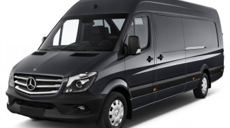 "2014 Mercedes-Benz Sprinter Crew Vans 2500 170"" Angular Front Exterior View"