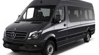 """2014 Mercedes-Benz Sprinter Passenger Vans 2500 170"""" Angular Front Exterior View"""