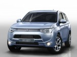 2013 Mitsubishi Outlander Plug-in Hybrid Makes World Premiere In Paris