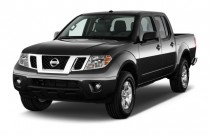 2014 Nissan Frontier 4WD Crew Cab SWB Auto SV Angular Front Exterior View