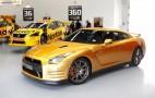 'Bolt Gold' Nissan GT-R Delivered To Auction Winner