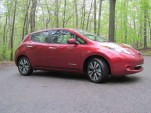 2014 Nissan Leaf, Bear Mountain, May 2014