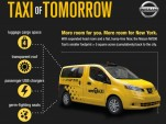 2014 Nissan NV200 Makes Debut As New York's Taxi Of Tomorrow