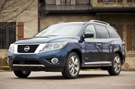 2014 Nissan Pathfinder Hybrid