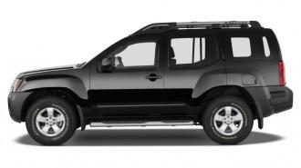 2014 Nissan Xterra 2WD 4-door Auto X Side Exterior View