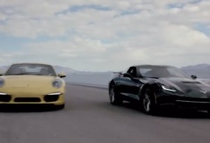 2014 Porsche 911 Carrera S and the 2014 Chevrolet Corvette Stingray