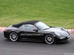2014 Porsche 911 Targa spy shots