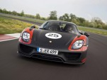2014 Porsche 918 Spyder production-spec prototype