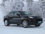 2014 Porsche Macan spy shots