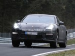 2014 Porsche Panamera facelift spy shots
