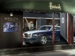 2014 Rolls-Royce Wraith at Harrods, London