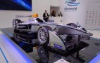 2014 Spark-Renault SRT_01E Formula E Electric Racer At Frankfurt