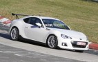 2014 Subaru BRZ STI Spy Shots