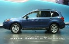 2014 Subaru Forester Live Photos: 2012 Los Angeles Auto Show