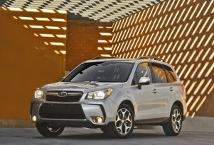 2014 Subaru Forester Aces IIHS Crash Test; Many Other Small SUVs Don't