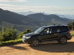 2014 Subaru Forester XT convoy on tour in South Africa