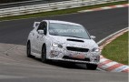 2014 Subaru WRX Spy Video