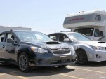 2014 Subaru WRX test mule spy shots