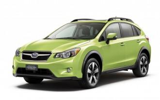 2014 Subaru XV Crosstrek, Hybrid: (Mostly) Top Safety Scores From Feds
