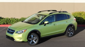 2014 Subaru XV Crosstrek Hybrid  -  Quick Drive, July 2014