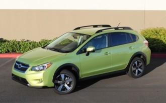 2014 Subaru XV Crosstrek Hybrid: Quick Drive