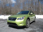 2014 Subaru XV Crosstrek Hybrid, Catskill Mountains, NY, March 2014