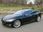 2014 Tesla Model S P85D, road test, Dec 2014  [photo: David Noland]