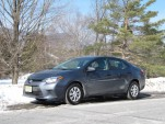 2014 Toyota Corolla LE Eco, Catskill Mountains, NY, Feb 2014