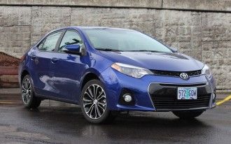 2014 Toyota Corolla S: Five Things We Like
