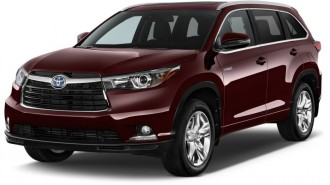 2014 Toyota Highlander Hybrid 4WD 4-door Limited (Natl) Angular Front Exterior View