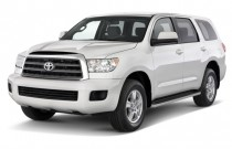 2014 Toyota Sequoia RWD 5.7L SR5 (GS) Angular Front Exterior View