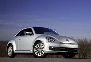 VW Beetle Hybrid Prototype Previewed Outside New York Auto Show