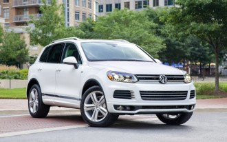 VW's American-Made SUV Won't Be A Touareg