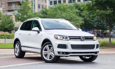 2014 Volkswagen Touareg Photos